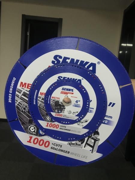 SIÊU PHẨM: Lưỡi cắt sắt kim cương đa năng SENKA Ø105/4 cho máy tua nhanh