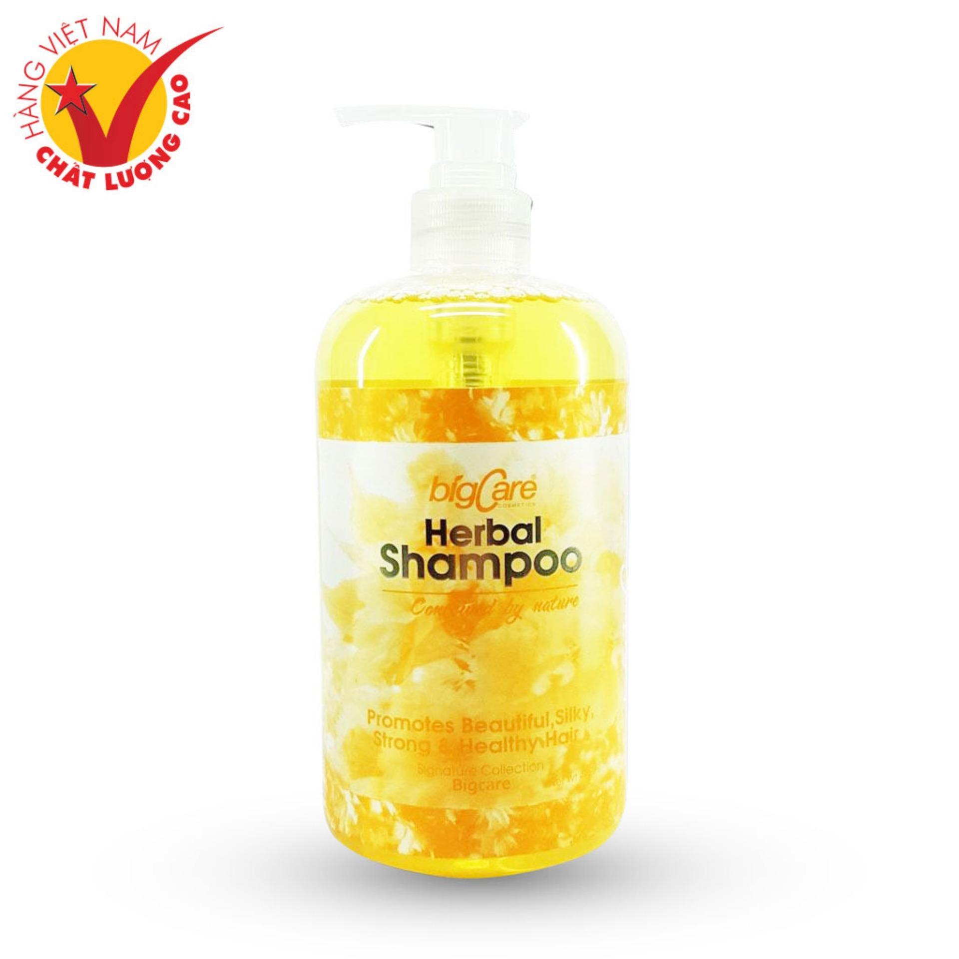 Dầu Gội Trị Gàu Chống Chẻ Ngọn Ô Liu Mật Ong Vàng Herbal Shampoo 495ml