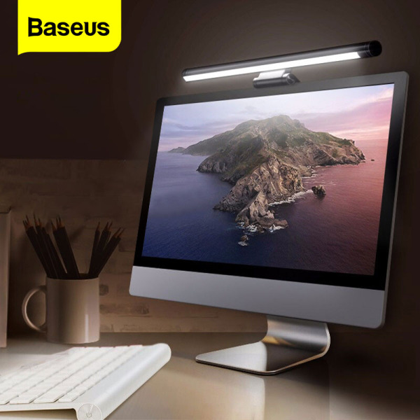 Bảng giá [Siêu Sale][Hàng Quốc tế Chính hãng] Đèn LED treo cho máy tính Baseus có thể điều chỉnh cổng sạc USB Bảo vệ mắt Dành cho bàn làm việc văn phòng nhà ở Phong Vũ