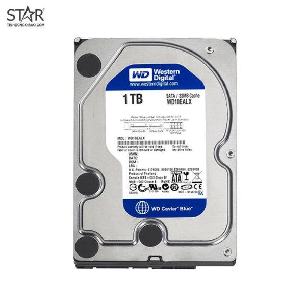 Bảng giá [HCM]Ổ cứng HDD Western 1TB Blue Chính Hãng (WD10EZEX) Phong Vũ