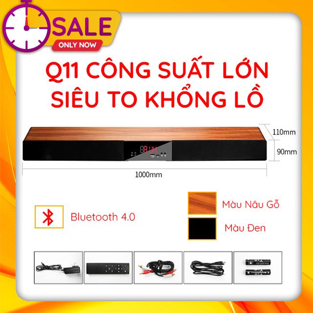 Loa Thanh Dài Gaming Soundbar Để Bàn Q11 Công Suất Lớn Dùng Cho Máy Vi Tính PC, Laptop, Tivi