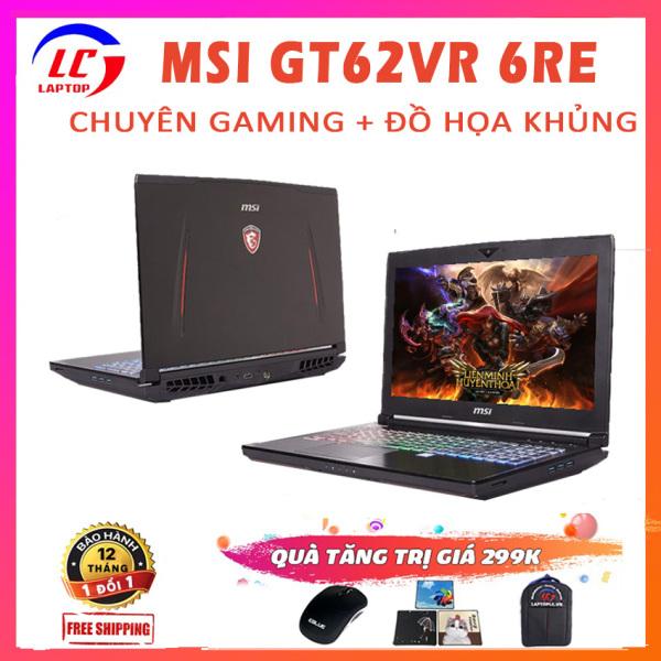 Bảng giá Laptop Chuyên Game, Đồ Họa MSI GT62VR 6RE Dominator Pro, i7-6700HQ, RAM 8G, SSD 128G + HDD 1T, VGA NVIDIA GTX 1070-8G, Màn 15.6 FullHD IPS, Laptop Gaming Khủng, Laptop MSI Phong Vũ