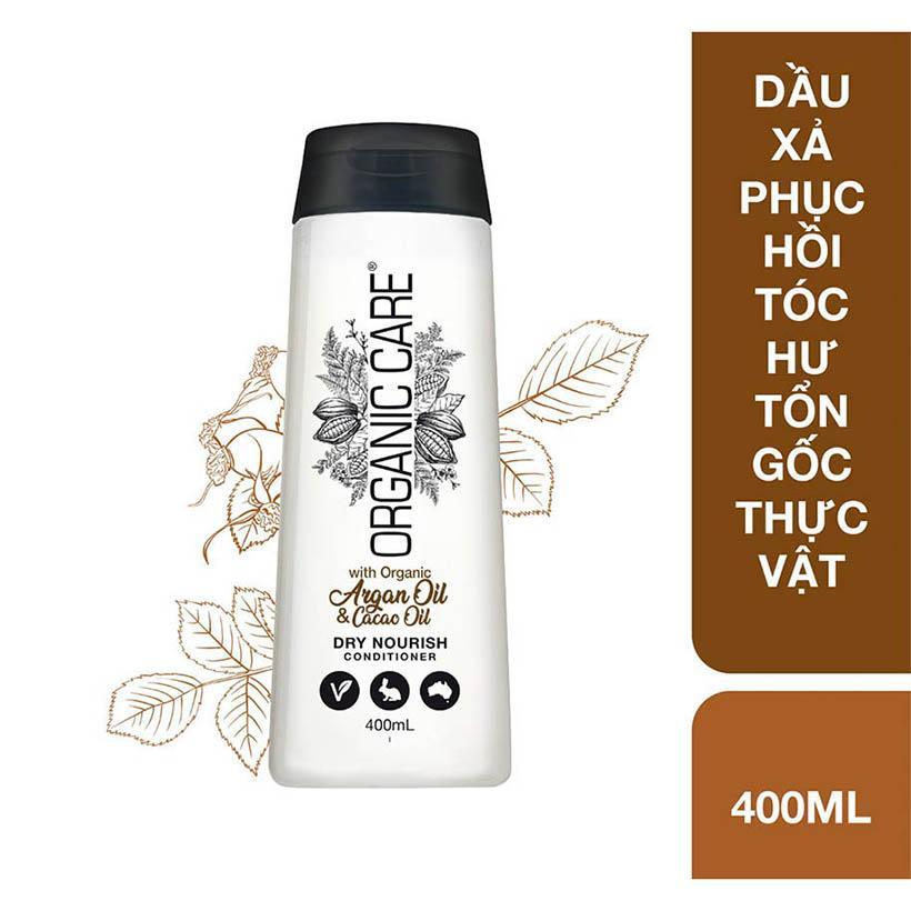 Dầu xả phục hồi tóc hư tổn gốc thực vật Organic Care chai 400ml