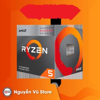 CPU AMD Ryzen 5 3400G (4C 8T, 3.7 GHz 4.2 GHz, 4MB) AM4 - Hàng Chính Hãng thumbnail