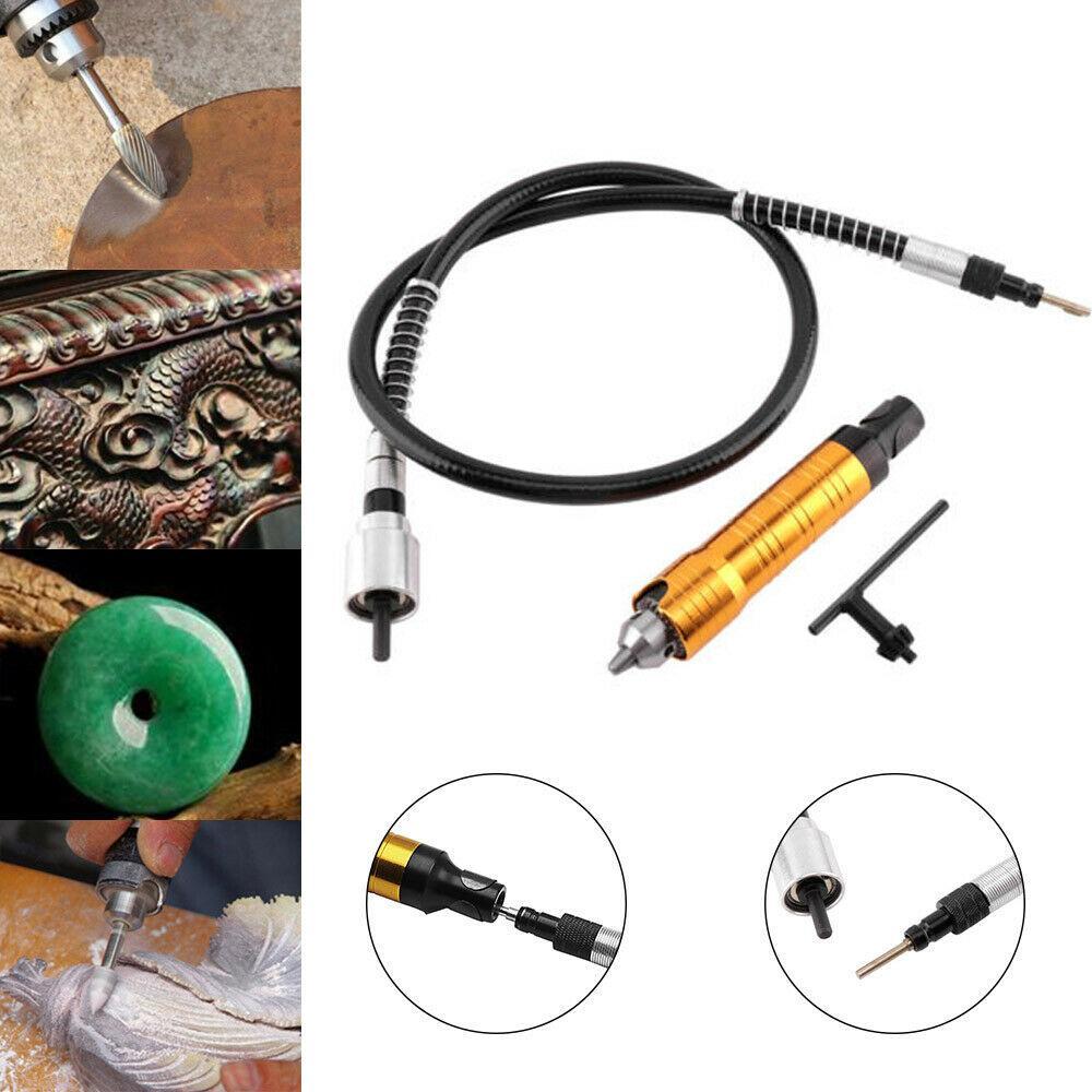 Bộ combo máy khoan mài mini + 10 đầu mài + 6 mũi khoan, phụ kiện lắp cho khoan tay thành máy khoan mỹ nghệ, máy mài tinh chỉnh