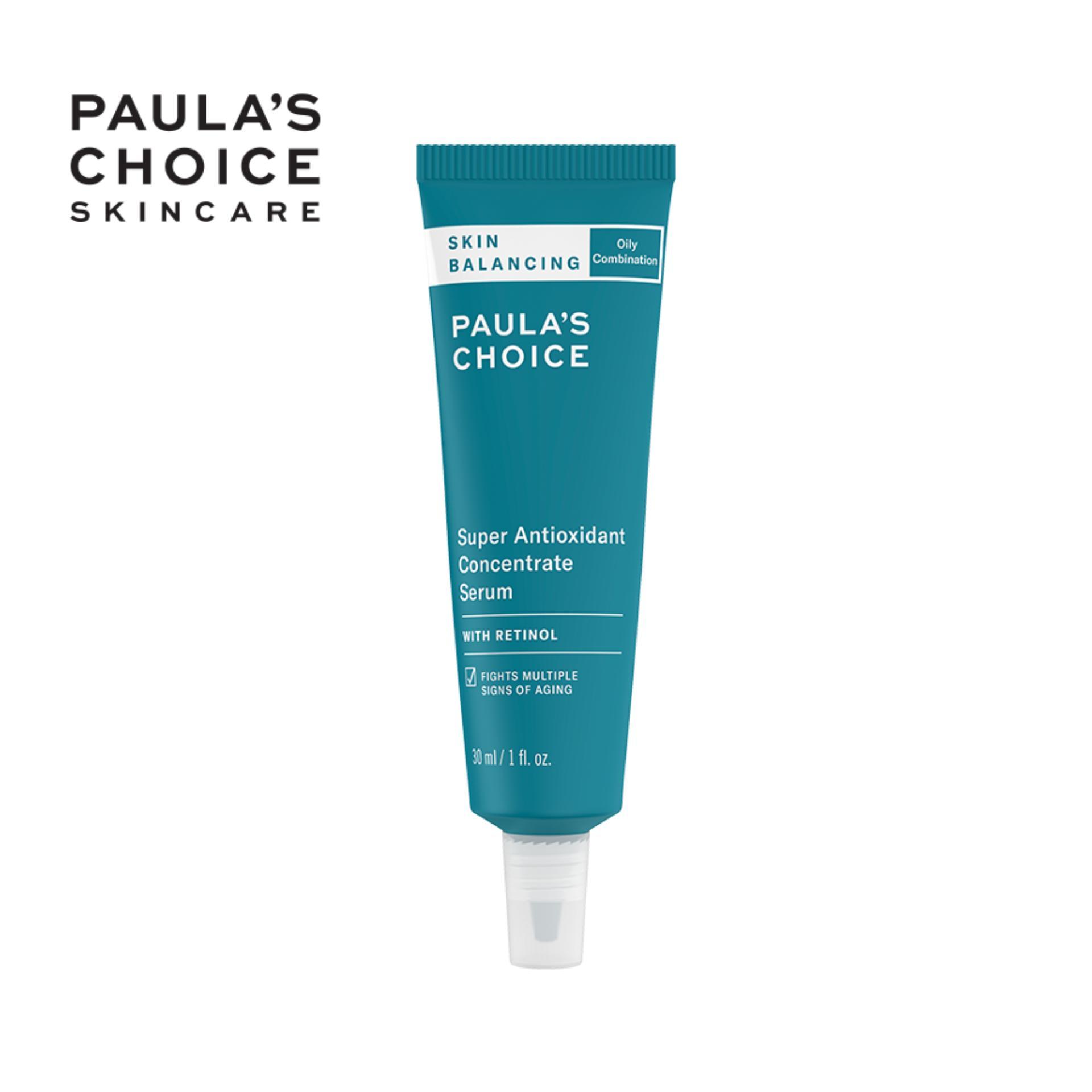 Tinh chất serum cân bằng độ ẩm và siêu chống lão hóa Paula's Choice Skin Balancing Super Antioxidant Concentrate Serum 30ml 3350 nhập khẩu