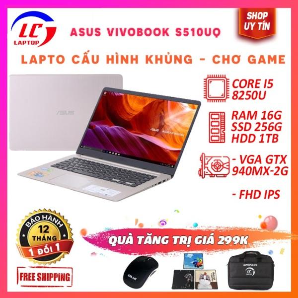 Bảng giá Laptop Edit Video Chơi Game Chuyên Nghiệp Asus Vivobook S510UQ, i5-8250U, Màn 15.6 FullHD IPS, Viền Siêu Mỏng, Cạc Rời, Laptop Gaming Phong Vũ
