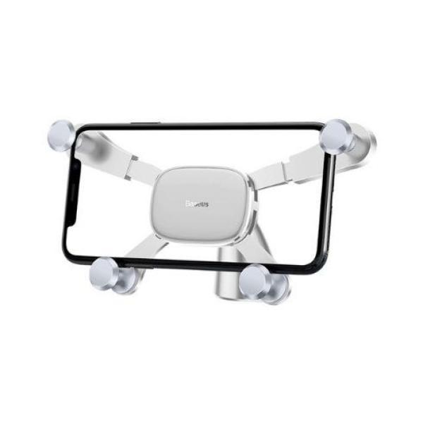 Giá đỡ điện thoại cho các dòng điện thoại iphone 8, x, xs max thiết kế thông minh thoát khí nóng thông khí với 4 chân đỡ chuyên nghiệp dùng trên xe hơi và để bàn - Phân phối bởi Baseus Vietnam
