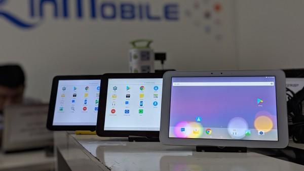 Máy tính bảng Kyocera Qua Tab QZ 10 - Ram 3/32 GB, Qualcomm Snapdragon 625, Pin 7000mAh, 4G LTE+Wifi, Sạc nhanh Type - Giá rẻ chính hãng zinmobile
