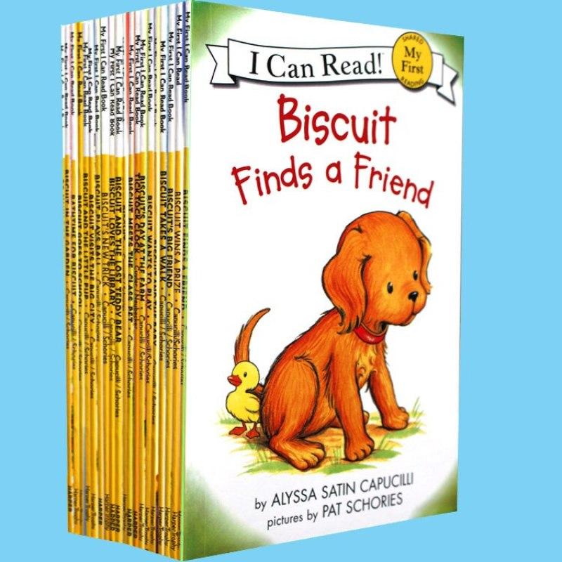 Sách Bộ- I Can Read Biscuit Phonics- 24 Cuốn Mini-Bản Gốc, Sách In Chất Lượng Đẹp- Tặng Kèm File Nghe- Childrens Book