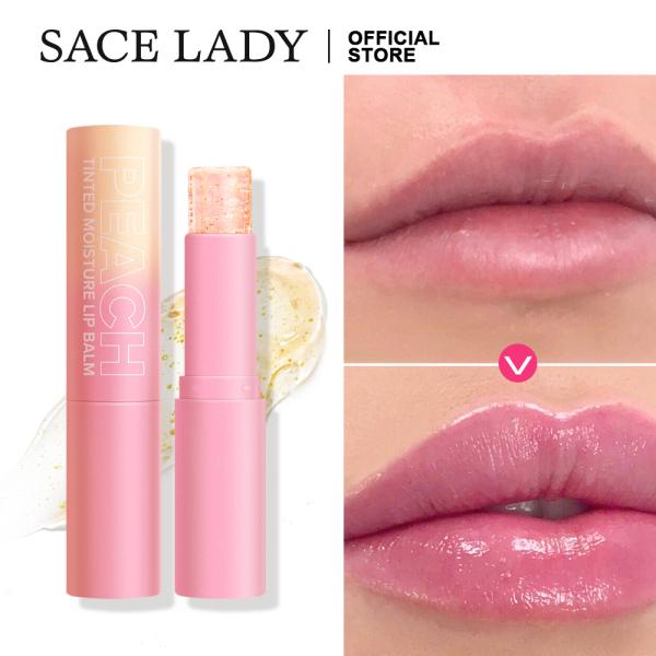 SACE LADY Moisturizng Lip Balm Pluming Lip Gloss Smooth Soft & Lasting Waterproof Make Up Cosmetics