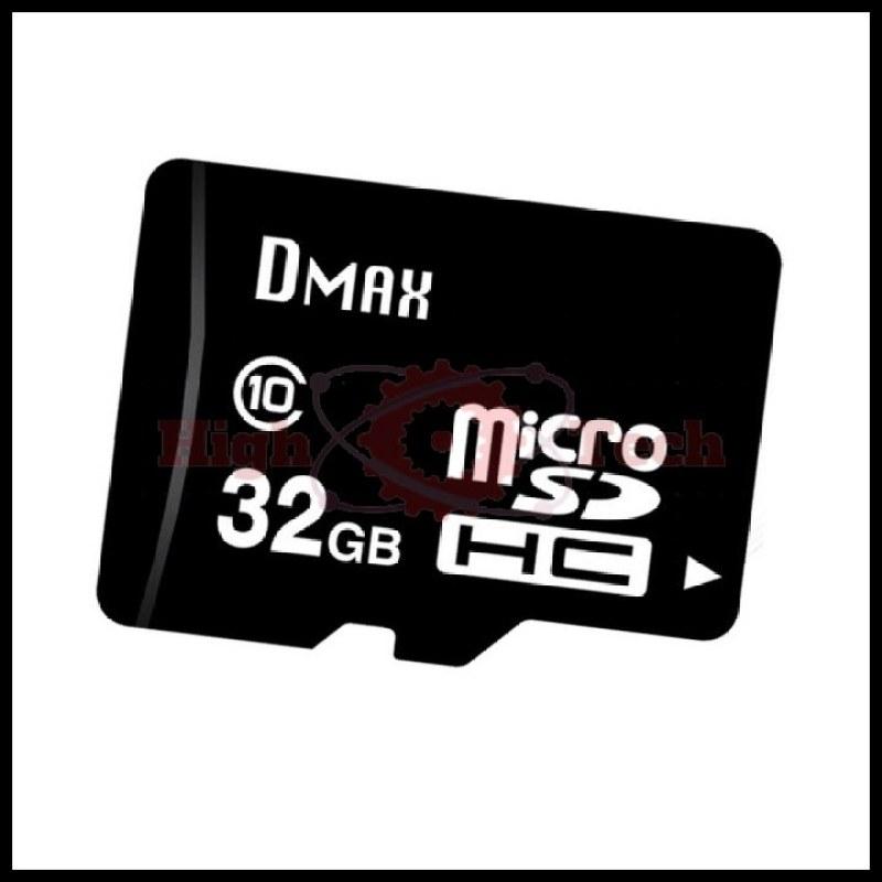 Thẻ nhớ 32GB Dmax micro SDHC Class 10 - Bảo hành 5 năm đổi mới + tặng cáp micro tròn Romoss