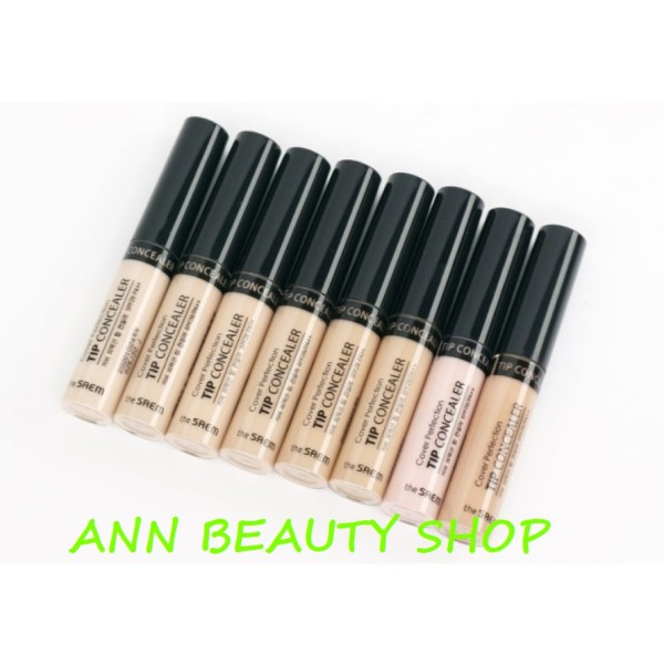 Che khuyết điểm The Saem COVER PERFECTION TIP CONCEALER giá rẻ