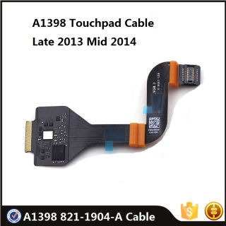 Original A1398 Touchpad Cable 821-1904-A for Macbook Pro Retina 15.4 Late 2013 Mid 2014 ME294 MGXA2 MGXC2 Replacement Part thumbnail