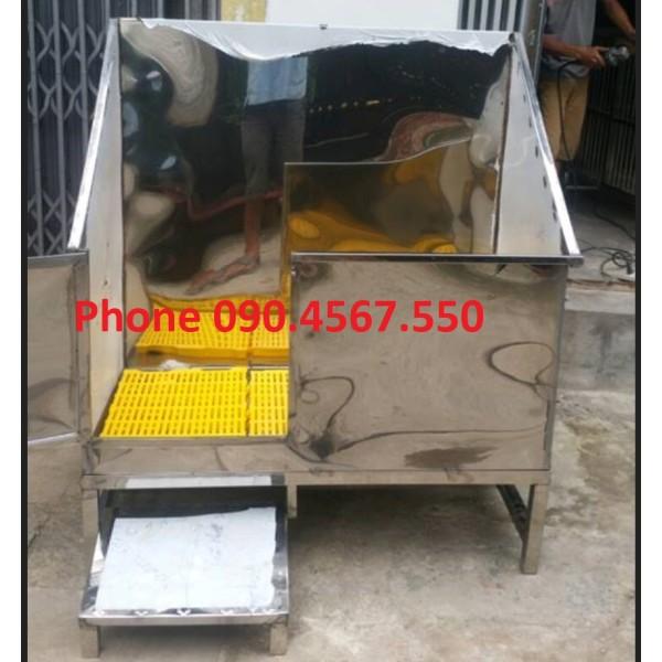 Bồn Tắm Inox 304 cho Chó Mèo, Spa Thú Cưng chuyên dụng