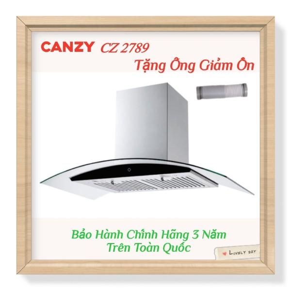 Máy Khử Mùi Cao Cấp Kính Cong Cảm Ứng CANZY CZ2789