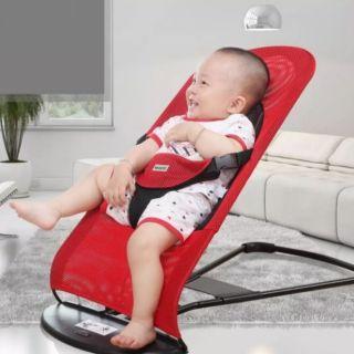 Ghế rung, ghế nằm, ghế nhún cao cấp cho bé. Khung thép chắc chắn, hàng cao cấp an toàn cho bé thumbnail