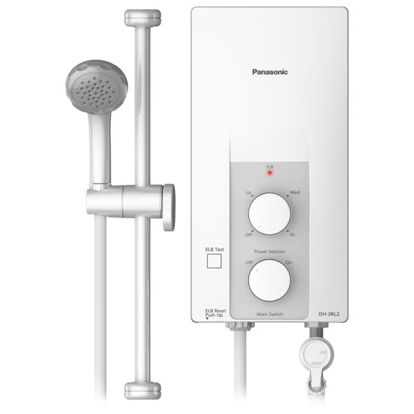 Bảng giá Máy nước nóng Panasonic DH-3RL2VH 3.5KW - Làm nóng trực tiếp, Không có bình chứa, Nhiệt độ tối đa 45 độ C