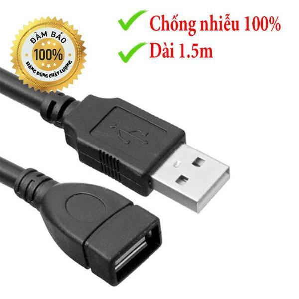 Bảng giá Dây Nối Dài USB 2.0 Có cục chống nhiễu dài 1.5 mét Phong Vũ