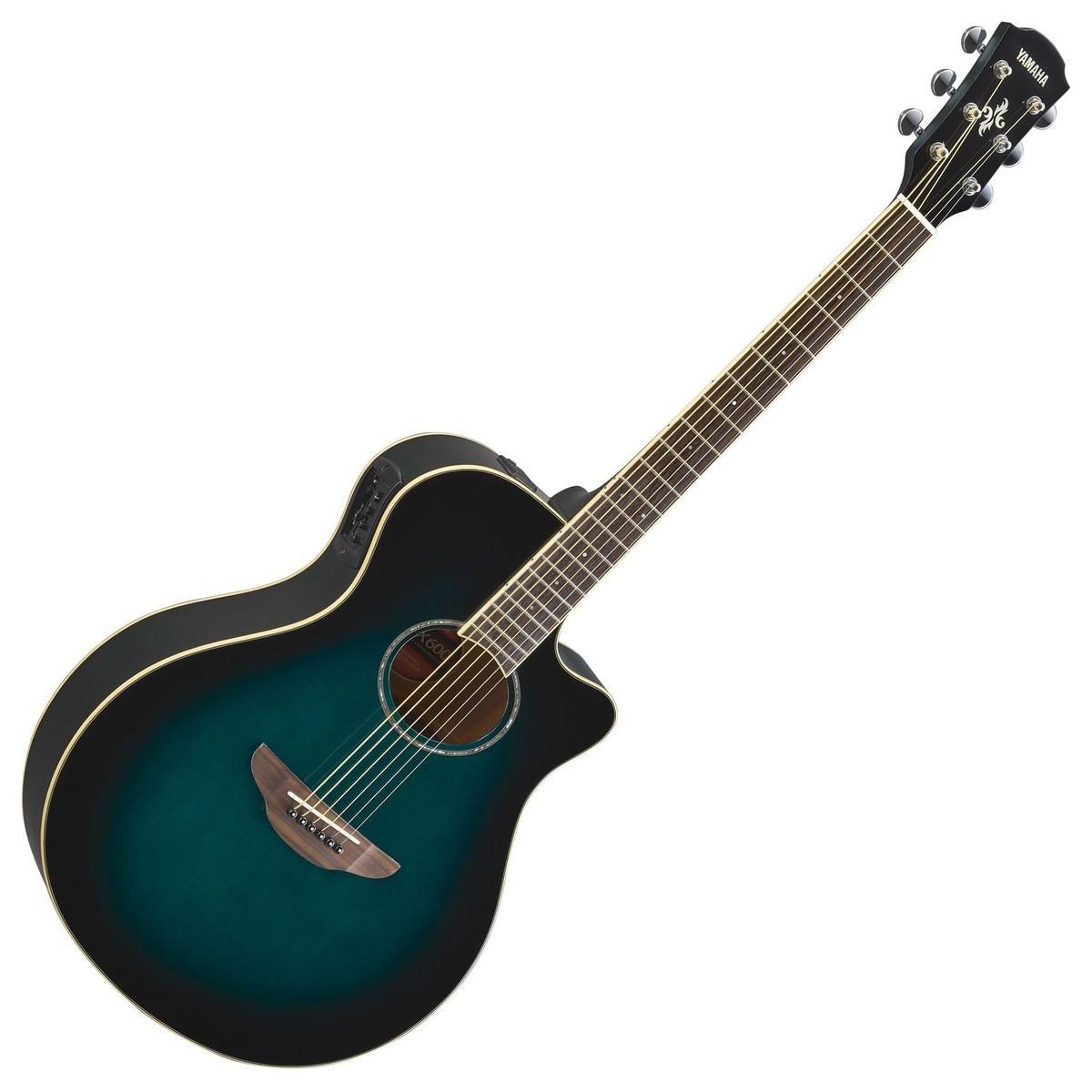 Đàn Guitar Acoustic Yamaha APX600 Oriental Blue Burst
