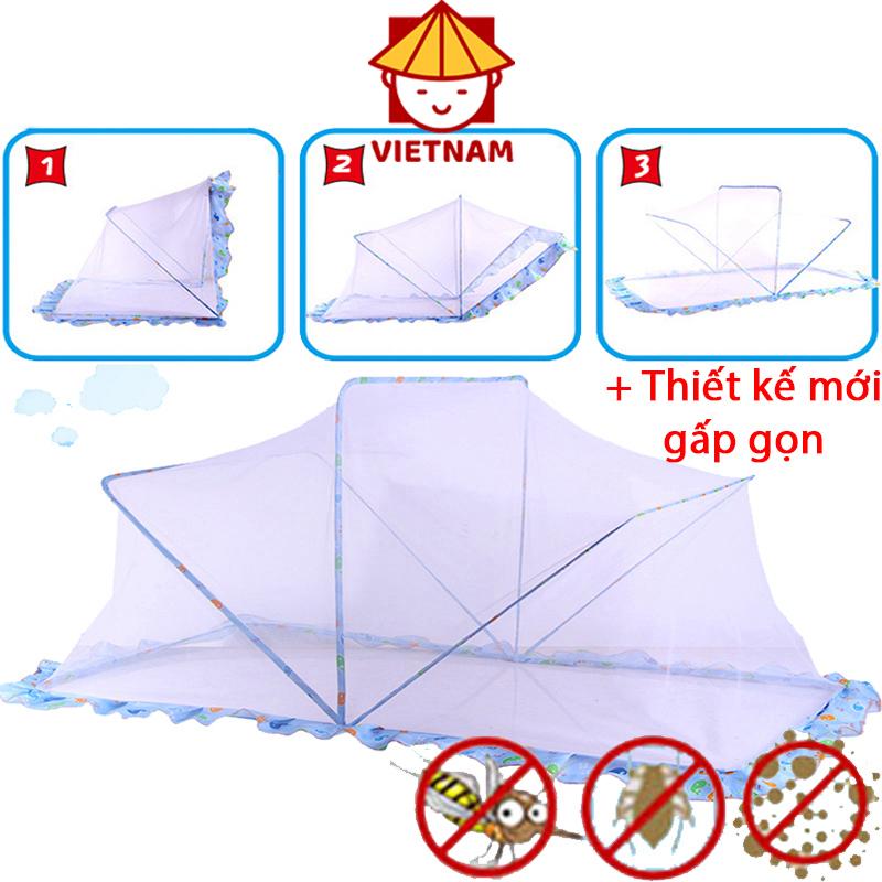 Màn chụp khung chống muỗi kiểu dáng mới, Màn ngủ cho trẻ em thế hệ mới, Dễ dàng sử dụng mọi trường hợp