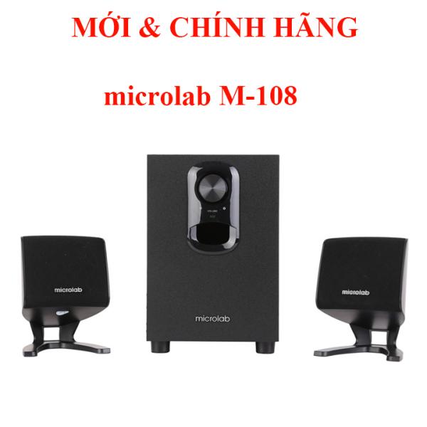 Bảng giá Loa MICROLAB M-108 chỉnh Bass được M108 Phong Vũ