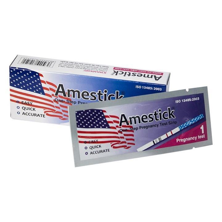 Combo 6 que thử thai Amestick nhập khẩu