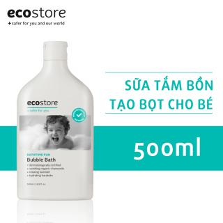 Sữa tắm bồn tạo bọt cho bé gốc thực vật ecostore 500ml EXP 03.2022 thumbnail