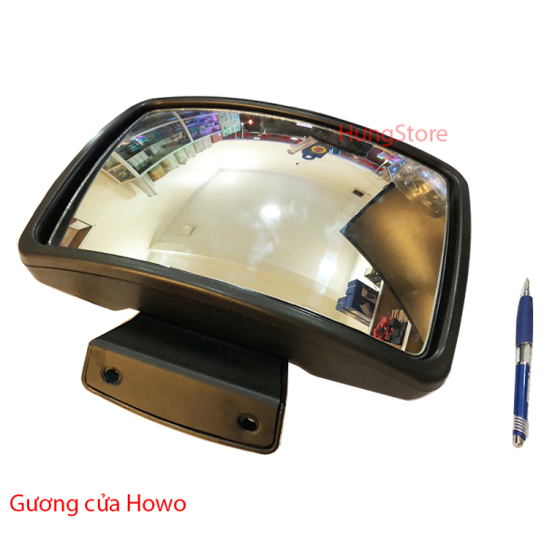 Gươngsoi cánh cửa xe Howo Vuông, Chính xưởng, bền, đẹp,dễ lắp đặt