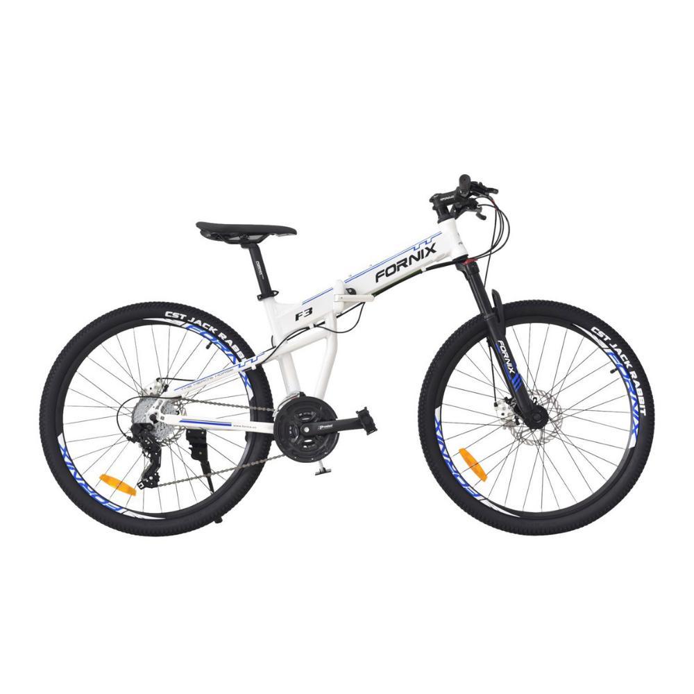 Mua Xe đạp gấp địa hình F3 màu trắng sang trọng
