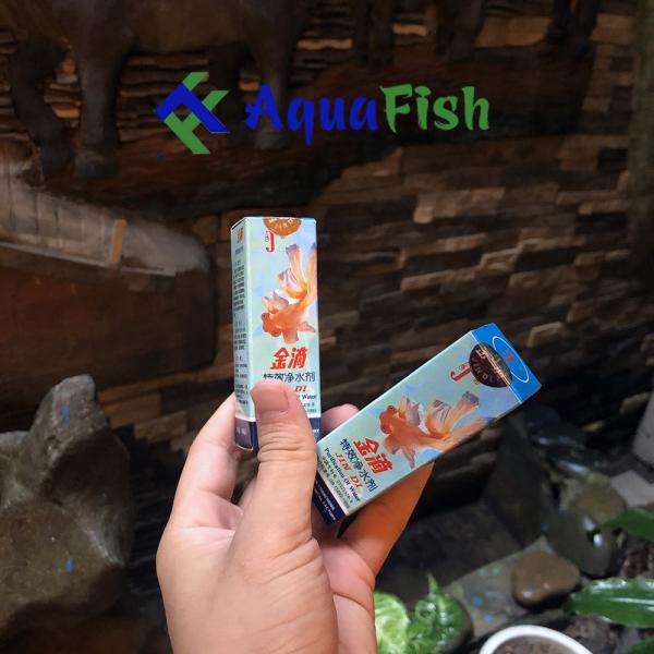 Combo 2 lọ dung dịch làm trong nước Jindi ( dành cho bể cá )