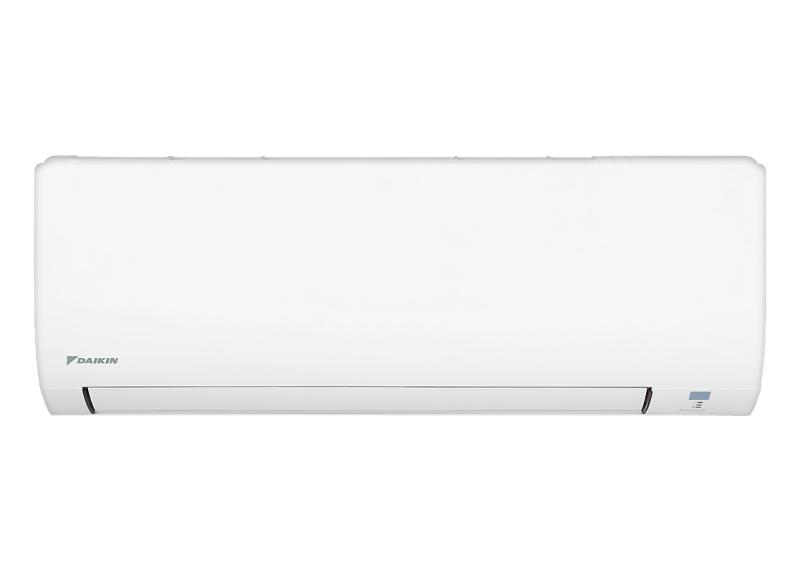 Máy lạnh Daikin 2.5 HP FTC60NV1V. Nhãn năng lượng tiết kiệm điện:3 sao (Hiệu suất năng lượng 3.5) Tiện ích:Chế độ chỉ sử dụng quạt - không làm lạnh, Chức năng hút ẩm, Hẹn giờ bật tắt máy, Làm lạnh nhanh tức thì