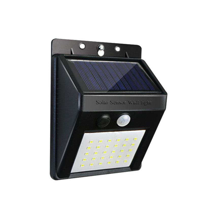 Đèn Led Năng Lượng Mặt Trời Áp Tường 30 LED