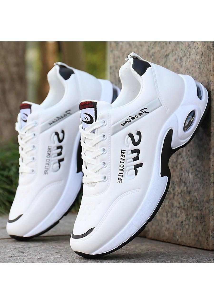Giày sneaker nam (giá rẻ) GTTN-61 - Giày Thể Thao Thời Trang Nam Có Đệm Khí Trợ Lực Êm Chân, Thoáng Khí