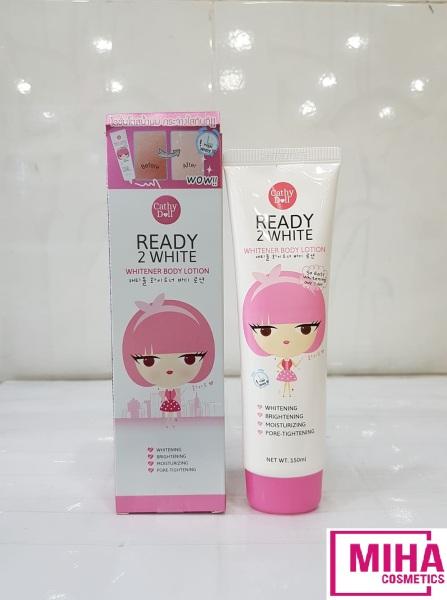Kem Dưỡng Trắng Da Và Make Up Body Ready 2 White CATHY DOLL 150ml giá rẻ