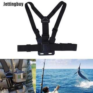 Jettingbuy Dây Đeo Ngực Có Thể Điều Chỉnh Dây Đeo Cơ Thể Mount Khai Thác Cho Máy Ảnh Hero 2 3 +