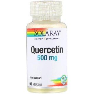 Solaray, Quercetin, 500 mg, 90 VegCaps thumbnail