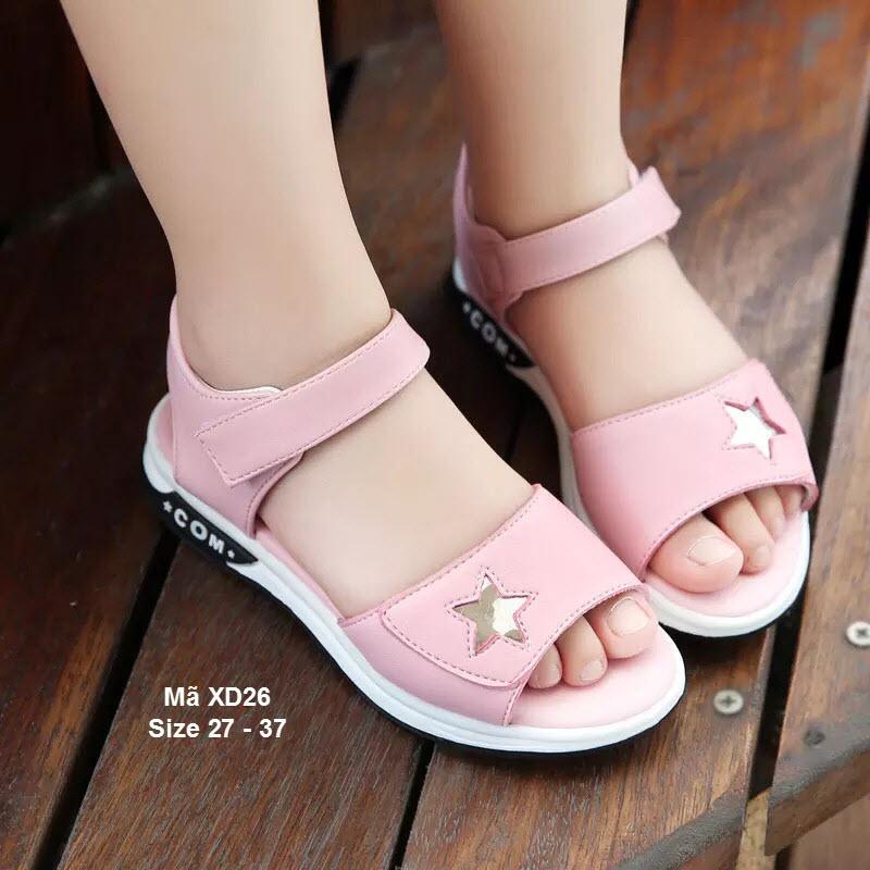 Giá bán Sandal bé gái - Dép Học Sinh Sao Kiểu Dáng Hàn Quốc XD26