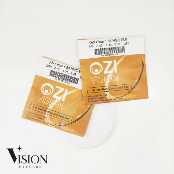 Giá bán Tròng kính Chống tia UV, hạn chế phản quang, chống chói Nhật Bản Ozi Vision