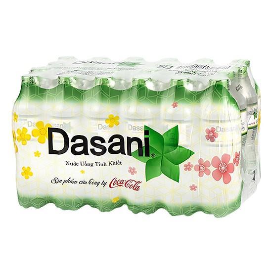 Nước suối Dasani 500ml x 24 chai