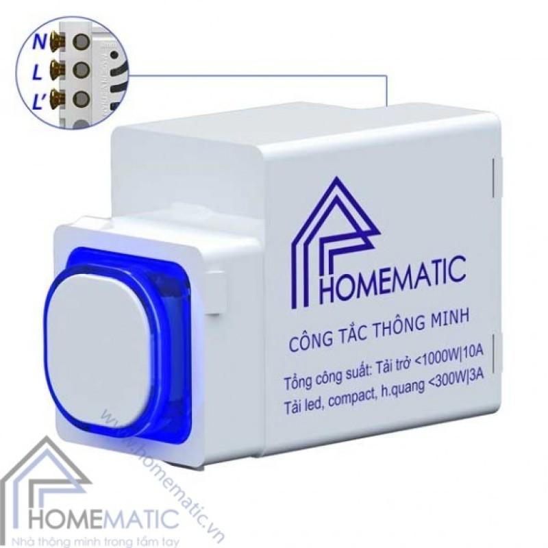 Công tắc điều khiển từ xa IR HOMEMATIC HMX (hạt tròn/hạt vuông)