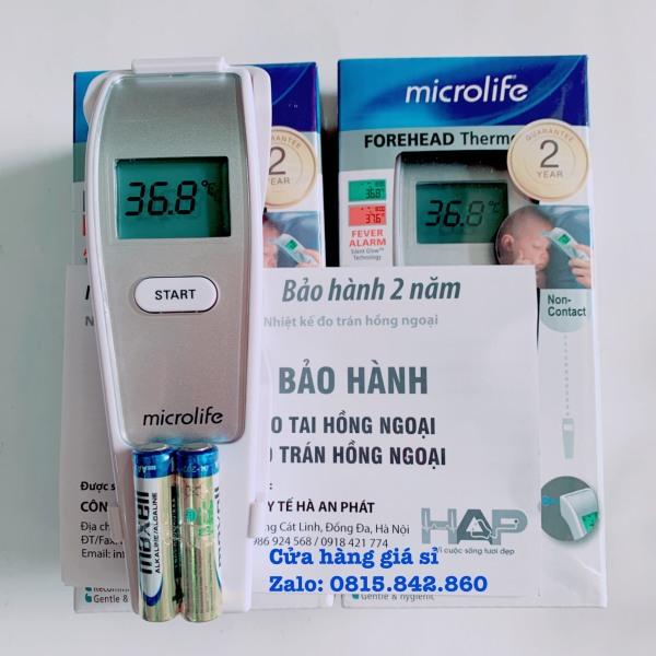 Nơi bán Nhiệt kế đo trán hồng ngoại Microlife FR1MF1 - BH 2 năm hàng chính hãng