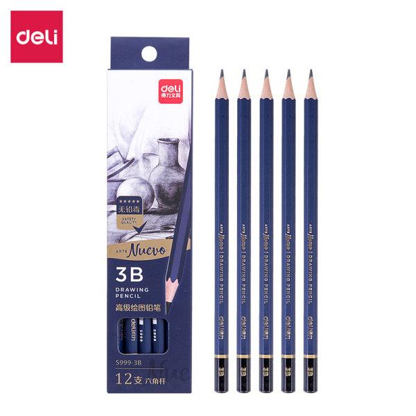 Mua Bút chì cao cấp Deli Nuevo S999|Từ HB đến 14B - 12 chiếc/Hộp - S999