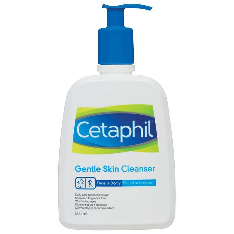 Cetaphil Sữa Rửa Mặt Dịu Nhẹ Cho Mọi Loại Da Gentle Skin Cleanser 500ml cao cấp