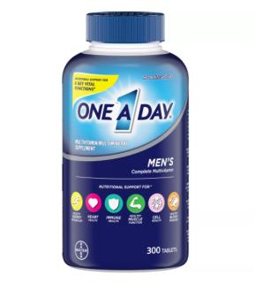 300 VIÊN UỐNG BỔ SUNG VITAMIN CHO NAM GIỚI One A Day Men s Health Formula Multivitamin thumbnail
