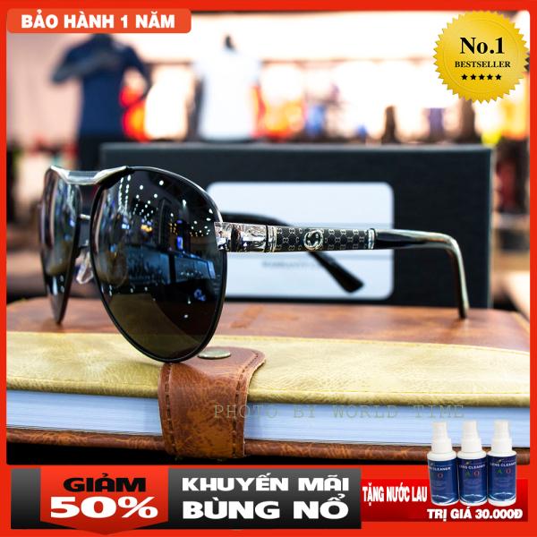 Giá bán Kính mát nam G68  tròng Polazied, chống lóa,Full box ,thời trang cao cấp bảo hành 12 tháng
