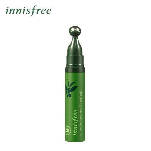 Thanh Lăn Mắt Tinh Chất Trà Xanh Innisfree Green Tea Seed Eye & Face Ball 10ml
