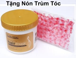 [siêu mềm mượt] Hấp dầu ủ tóc Nano Collagen Lavox 500ml siêu mềm mượt phục hồi hư tổn suôn thẳng hair mask + Nón Trùm Tóc thumbnail