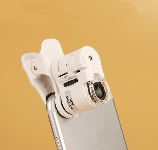 Giá Kính lúp 60x 9595W gắn smartphone