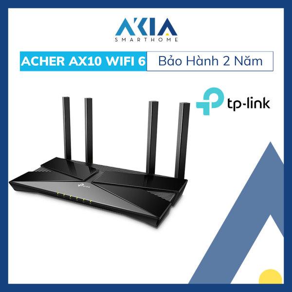Bảng giá Router WiFi 6 TP-Link Archer AX10 Bộ Phát Wifi chuẩn Wifi 6 Băng Tần Kép AX1500 - Bảo Hành Chính Hãng 2 Năm Phong Vũ